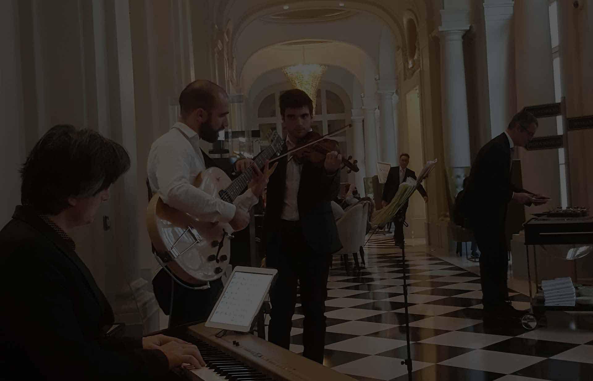 Notre orchestre professionnel